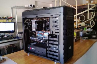 Workstation assemblata